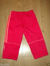 Pantalones y pantalones cortos rojo para niñas de 0 a 24 meses