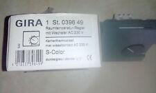 2 Stck.Gira Raumtemperaturregler,039649,S-Color,dunkelgrau
