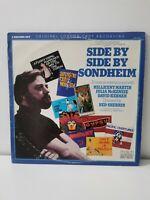 EX/EX !! Side By Side By Sondheim/1976 RCA Red Seal 2x LP Set/London Cast