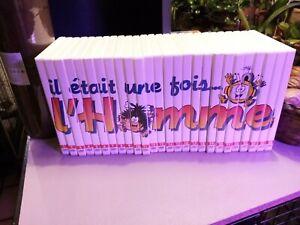 IL ETAIT UNE FOIS L'HOMME, 26  DVD ALTAYA TRES BON ETAT