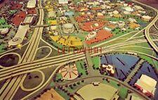 Aerial view creates intricate patterns New York World'S Fair 1964-65
