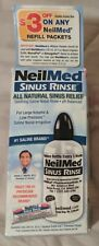 NeilMed Sinus Rinse Sample Starter Kit Bottle And 1 Mix Packet $3 Off