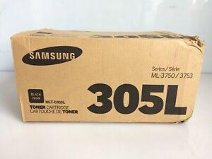 Genuine Samsung MLT-D305L High Yield Black Toner Cartridge, Series ML-3750/3753