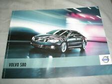 Volvo S80 range brochure Nov 2010