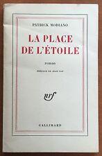 La Place de l'étoile by Patrick Modiano - First Edition - Nobel Prize Literature
