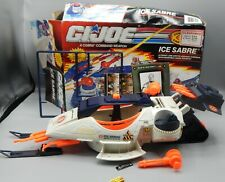 1991 Vintage Hasbro GI Joe Cobra ICE SABRE Vehicle ARAH Enemy G.I. toy W/Box !!!
