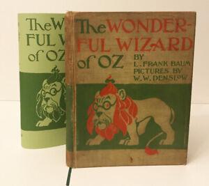 1900 TRUE First Edition,The Wonderful Wizard of Oz, L.Frank Baum,w/Archival Case