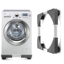 Ajustable Socle Support Machine à Laver Lave-linge ANTI-VIBRATION 4 Pied  Deco