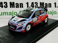 RD11B voiture 1/43 IXO Direkt Rallye : HYUNDAI I20 WRC Italie 2015 H.Paddon
