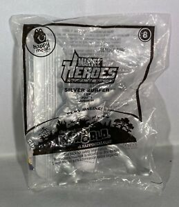 Silver Surfer Man #8 Marvel Heroes McDonalds happy meal action toy 2010 new pkg