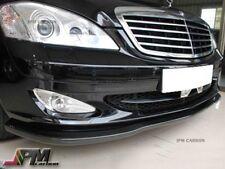 For 07-09 M-BENZ W221 S450 S500 S550 S600 CS Style Carbon Fiber Front Bumper Lip