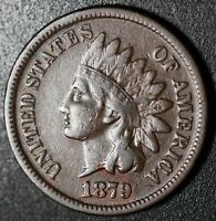 1879 INDIAN HEAD CENT - With LIBERTY - VF VERY FINE
