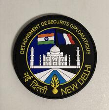 Ancien écusson Police Gendarmerie Ambassade New Delhi Inde pour collection