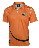 Wests Tigers NRL Polyester Polo Shirt Size S-5XL! BNWT's! W6