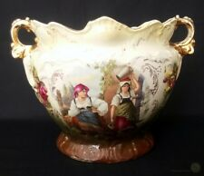 Antique N&L Stanley Jardiniere - Made In England - 9m Inches Tall