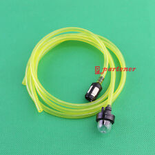 Snap in Primer Bulb & Fuel Filter With Fuel Line for McCulloch Craftsman Echo US
