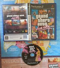 JUEGO PS2 GRAND THEFT AUTO VICE CITY. ROCKSTAR PLAYSTATION 2 PAL ESPAÑA PLAY