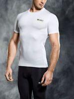 Select Men Sport Football Handball Compression Short Sleeve Shirt Base Layer ...