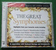 Classic FM Hall of Fame 2006 The Great Symphonies inc Haydn Clock + New Mint CD