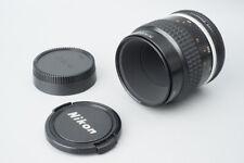 Nikon Micro Nikkor Ai-S 55mm f/2.8 f2.8 Ais Macro MF Prime Lens Fr Nikon F Mount