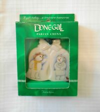 Donegal Parian China - Christmas Ornament - Snow Couple
