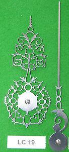 Antique Clock Hands LC19 Made In England From Original Design *Intricate design*