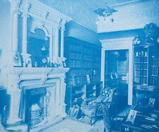 1896 Bedford Lemere & Co Cyanotype Intérieurs Anglais British Interiors Plate 26