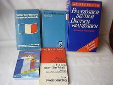 5 Bücher Wörterbücher Französisch - Deutsch