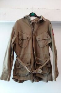 WW2 US M1942 Paratrooper Jump Jacket Reproduction Kay Canvas 42R 82nd Airborne