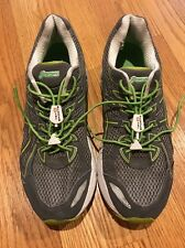 ASICS LEATHER MESH GT2170 GEL GREEN GRAY IGS WOMENS SHOES  Womens Shoes Sz 10 #