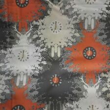 Indelible By the yard Art Gallery Fabrics Time is Deer Amber