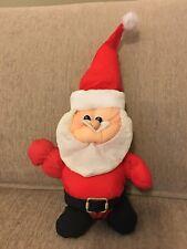"Vintage 1987 Dan-Dee Santa Clause Christmas Holiday Plush Doll 12"""