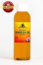 LANOLIN OIL USP GRADE PHARMACEUTICAL SKIN HAIR LIPS MOISTURIZING 100% PURE 2 OZ