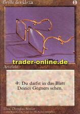 Gafas del Urza (glasses of Urza) Magic Limited Black bordered German beta fbb F
