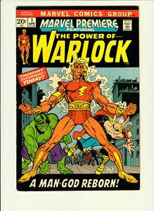 MARVEL COMICS PREMIERE #1 The Power of  WARLOCK EX++