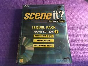 Scene it Movie Edition DVD Super Game Pack Edition Trivia-✅Free Ship✅