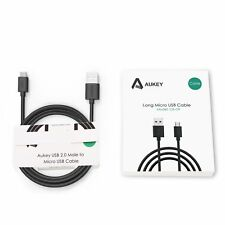 2M / 6.6fT Aukey CB-D9 Universal Micro USB Data Cable Type-A Hi-Speed Charging