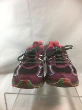 Asics T6K7Q Gel Scram 3 Black Purple Teal Running Shoes Lace Up Size 9