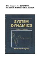 System Dynamics by Katsuhiko Ogata (2003) (Int' Ed Paperback) 4 Ed