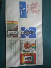 Ghana stamps. FDC. 1962