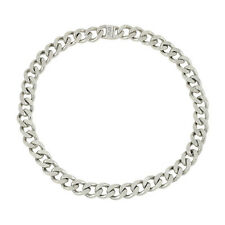 LUV AJ CLASSIQUE CHAIN NECKLACE- ANTIQUE PLATINUM ~NWT~ SOLD OUT!   $125 ** WOW
