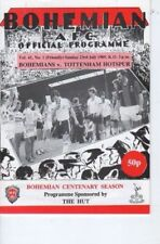 Football Pre-Season Fixture Programmes (1980s)