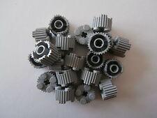 LEGO 20 rotondo griffelte Mattoncini 92947 in grigio chiaro / medio pietra 2x2