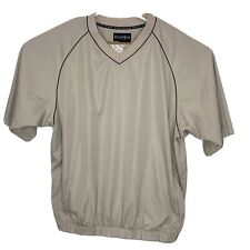 Footjoy Mens Xl Windshirt Short Tan Cc