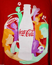 Womens World Cup Soccer Canada 2015 Coca Cola Coke Size Medium Mens Shirt