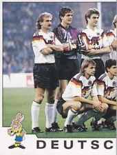 Panini - UEFA Euro 1992 Sweden - Half National Team Photo - Germany - # 189
