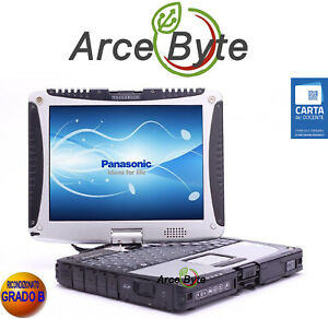 "PANASONIC CF-19 TOUGHBOOK 10""* PC CONVERTIBILE TABLET * GPS * TOUCH SCREEN * MK1"