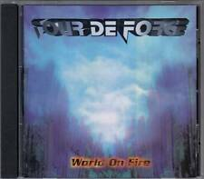 Tour De Force - World On Fire (CD1995) Japan-Import ohne Obi, RAR !!!