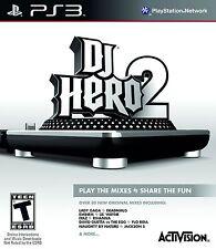 NEW SEALED DJ Hero 2 PS3 Video Game pitbull 50 cent rihanna lady gaga justice