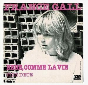 """France GALL Vinyle 45 tours 7"""" BEBE, COMME LA VIE - PLUS D'ETE - ATLANTIC 11620"""